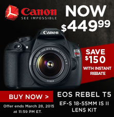 Canon products on Vanns